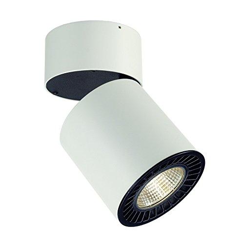 SLV Supros CL Deckenleuchte rund, 3000 lm, 3000 K SLM LED, 60 Grad Reflektor, weiß 114131