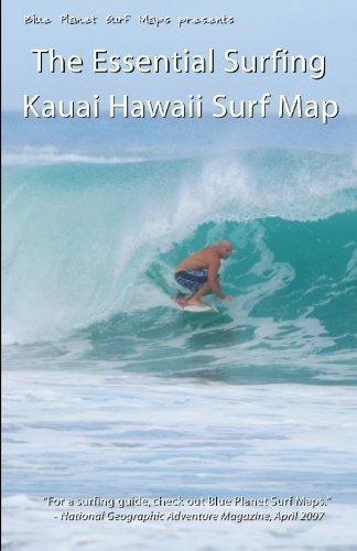 The essential surfing kauai hawaii surf map sporting goods for Department of motor vehicles kauai