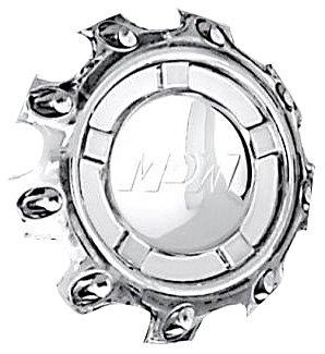 Mr. Lugnut C10108C Chrome Plastic Center Cap for MP108 Wheels (Mr. Lugnut)