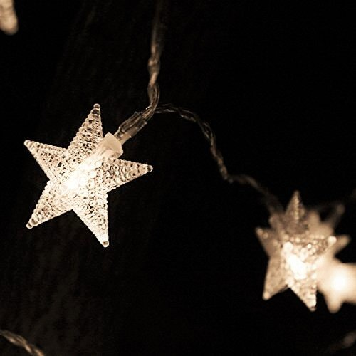 Romantic Star 100 LED String Lights (10M, Warm White)