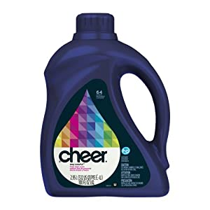 Cheer 2x Ultra Liquid HE Fresh Clean Scent, 64-Load, 100-Ounce