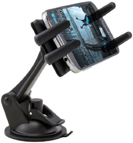 Arkon Windshield Dash Smartphone Car Mount for Apple iPhone 6 Plus 6 5 5S 5C Samsung Galaxy Note Edge 4 3 S6 S5 S4 Fire Phone