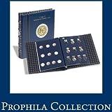 """Leuchtturm 311158 hojas para monedas VISTA, conmemorativas de 2 Euros """"E.M.U."""""""
