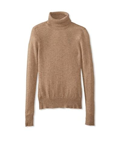 Cashmere Addiction Women's Turtle Neck Sweater