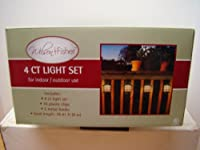 "WILSON & FISHER 4 CT LIGHT SET ""for indoor/outdoor use"""