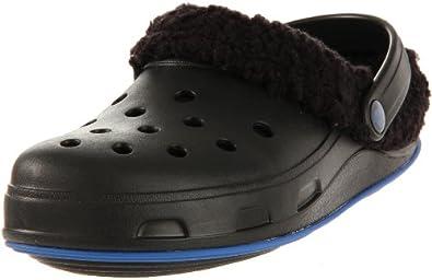 [クロックス] crocs Crocstone TM Julia Lined Clog 11668-05Z-413 black/aegean blue (black/aegean blue/W5/21cm)