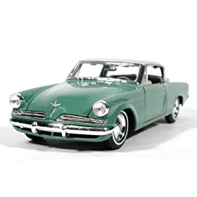 diecast car collectible: 1953 Studebaker Starliner
