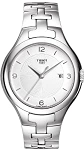 Tissot Womens T-12 Silver-tone Analog Quartz Watch T0822101103700