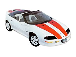 1998 1999 2000 2001 2002 Chevrolet Camaro Z28 RS Rally Sport Decals & Stripes Kit CONVERTIBLE T-TOP - RED