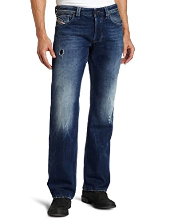 (超低)Diesel迪赛纯棉直筒牛仔裤Larkee 885W Regular Straight Leg 折后 $85