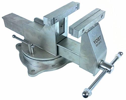 Bench Vise Bench Vise Yost 6 Stainless Steel Vise Swivel Base