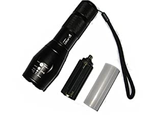 UltraFire CREE XML T6 LED Flashlight 5 Mode Zoomable Torch
