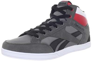 Reebok Men's Royal Court Mid Shoe,Cyclone Grey/Black/Excellent Red/White/Royal,10.5 M US