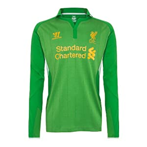 Warrior Liverpool Football Club Home Gk Jersey - Fern Green Large from Warrior