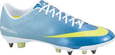 Nike Mercurial Vapor Ix Sg Pro Mens Football Boots Cleats 555607 474 Neptune Blue... by Nike