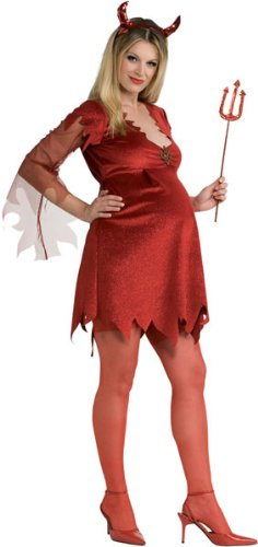 Halloween Costumes For Pregnant Women Ideas Devil Lady Pregnant Costume - Standard Cheap