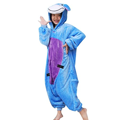 Hee Grand Pajamas Anime Costume Kids Animal Onesie Cosplay