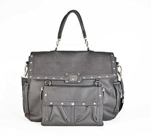 "Magic Stroller Bag - Bolso cambiador, diseño tipo ""Lady rock"", color gris"