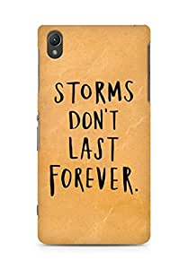 AMEZ storms dont last forever Back Cover For Sony Xperia Z2