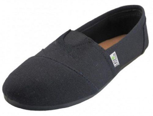 easysteps-womens-canvas-slip-on-shoes-with-padded-insole-all-black-9-bm-us