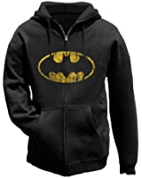 Batman - Distressed Shield Kapuzen Jacke