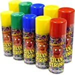 Can of Silly String (assorted colours...