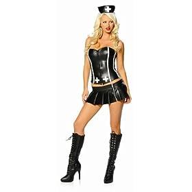 bad nurse  costume