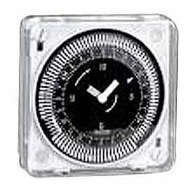 Intermatic Mil72Estuzh-240 24-Hour 240V Flush Mount Electromechanical Time Control With Manual Override