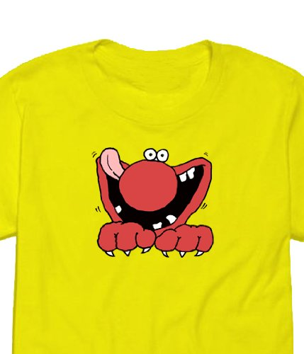 Monster Munch Retro Beef' Hot Flavour 1970s Childrens Favourite , Womens T-shirt Picture