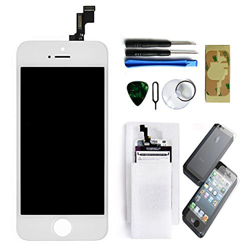 Ztr Lcd Touch Screen Digitizer Frame Assembly Full Set Lcd Touch Screen Replacement For Iphone 5C - White