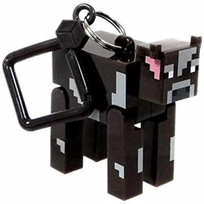 Official Minecraft Exclusive Cow Toy Action Figure Hanger from U.C.C. / MOJANG