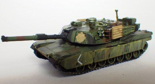 アメリカ軍 M1(プラス)エイブラムス 主力戦車  A1型 NATO 迷彩