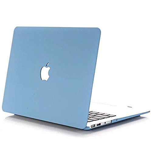 YiYiNoe Hard Case Cover for Apple Mac Book,Plastic Shell for Macbook Air 13 inich A1369/A1466£¬Blue