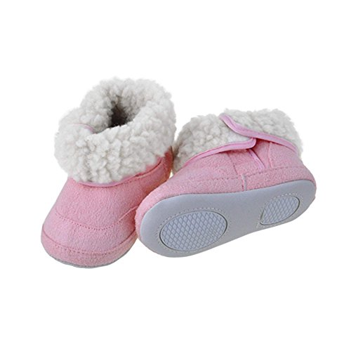 Arshiner Baby Girls Boys Infant Toddler Eva Winter Fur Shoes Snow Boots Warm