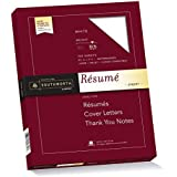 Southworth Exceptional Resume Paper, 100% Cotton, 32 lb, white, 100 Count (RD18CF)