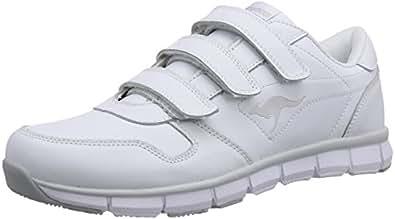 KangaROOS K-BlueRun 700 V, Unisex-Erwachsene Sneakers, Weiß (white/lt grey 002), 38 EU