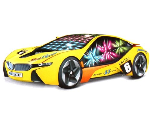 Renbo 8021 Electric Universal Concept Racing Car With 3D Colorful Light, Music
