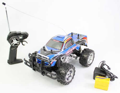 Rechargeable 1:14 Extreme Work Devil Boy RC Monster Truck RTR RC TRUCK Extremely Great Quality and Born to Race Off Road or On Road