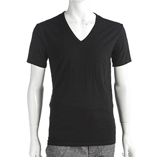 CALVIN KLEIN メンズ アンダーウェア Tシャツ 半袖 (U8511A)【M-ブラック】 並行輸入品