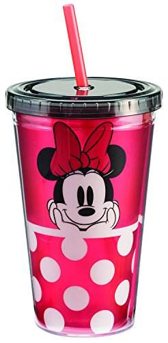 Disney Minnie Mouse 18 Oz. Acrylic Travel Cup (Disney Coffee Travel Cup compare prices)
