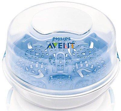 Philips Avent New Microwave Natural Steam Baby Bottle Steriliser Scf281/02