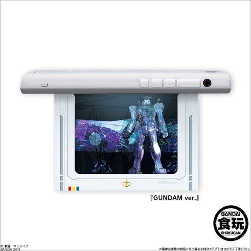 ハコビジョン MOBILE SUIT GUNDAM 2個入 BOX (食玩・ガム)