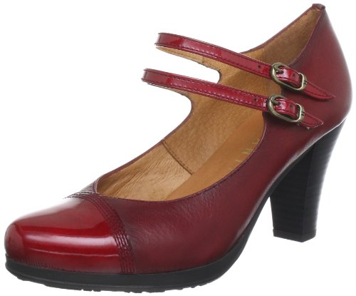 Hispanitas Louvre HI38565 Ankle Womens Red Rot (Guinda) Size: 6 (39 EU)