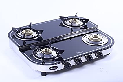 SC GLS 403 Carol Gas Cooktop (4 Burner)