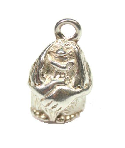 Sterling Silver Troll Pendant