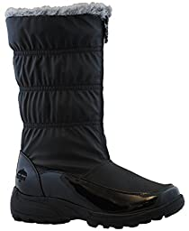 Totes Womens Rogan Snow Boot (Available in Medium and Wide Width),10 B(M) US,Black