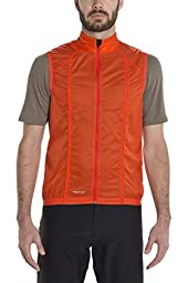 Giro Wind Vest - Men\'s Glowing Red Large