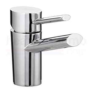 Bristan OL EBASNW C Oval Basin Mixer with Eco Click       Customer review and more description
