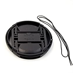 72 mm Center Pinch Cover with String