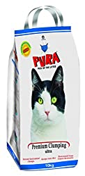 PURA Premium Clumping Cat Litter 10 KG